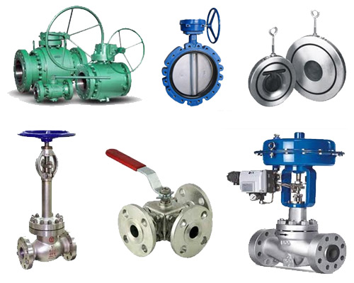 different types of control valves pdf